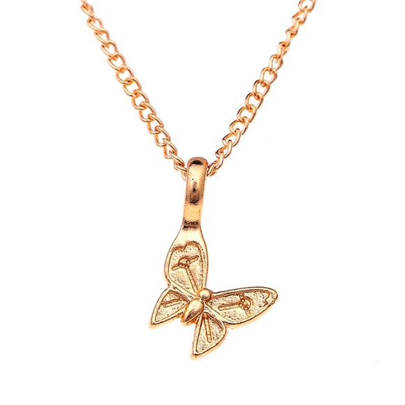 f1c9a311d Jewelry   Enchanted Butterfly Choker Pendant Necklace   Poshmark